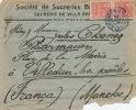 BRESIL - SAO PAULO - Enveloppe Timbrée Datée 1926 - Brazil
