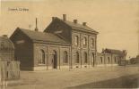 Lincent   :  La Gare  ( Ecrit  Avec Timbre ) - Lincent