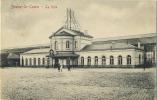 Braine-le-comte     :  La Gare ( Ecrit  Avec Timbre  1 Cent  ) - Braine-le-Comte