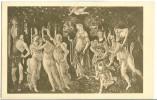 Botticelli, Der Fruhling, Early 1900s Unused Postcard [P9401] - Paintings
