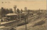 Diest :  Statie - La Gare  ( Geschreven Met Zegel )    Watertoren - Diest