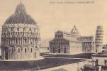 PISA DUOMO BATTISTERA E CAMPANILE DALL'ALTO - Pisa