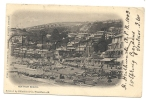 Ventnor (Royaume-Uni, Isle Of Wight) : Looking Of The Beach In 1901 (lively). - Ventnor