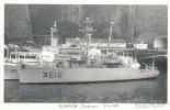 ( CPA BATEAUX DE GUERRE )  DOMPAIRE  /  Dragueur  31-8-1970  - - Warships