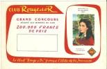 Buvard Club Rouge Et Or Illustrateur G. De Sainte Croix - Buvards, Protège-cahiers Illustrés