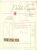 Faktuur - Facture  *  Drukkerij Tickets J. Verbeke - Cappoen  (Freren Fonteinstraat, Brugge) - Belgique