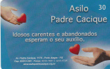 BRAZIL(CRT/Brasil Telecom) - Asilo Padre Cacique, 06/01, Used - Brazil