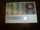 CARTE MAXIMUM  Avec Timbre(s) Cachet 1er Jour  1984  COMITE INTERNATIONAL OLYMPIQUE - Briefmarken
