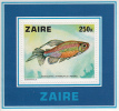 Zaire MNH Scott #871 Souvenir Sheet 250k Micralestes Interruptus - Fish - 1971-79: Neufs