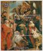 Zaire MNH Scott #861 Souvenir Sheet 5z Adoration Of The Magi By Rubens - Christmas Gum Bend - 1971-79: Neufs