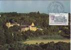 Carte-Maximum FRANCE N° Yvert 2349 (Abbaye De LANDEVENNEC) Obl Sp Ill 1er Jour (Ed De L'Abbaye :Etat Actuel) - 1980-89