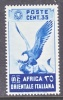 Italy Eastern Africa 9   **  FAUNA  BIRD - Italian Eastern Africa