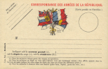 CPA  Neuve:  Correspondance Des Armées De La République ( Modéle B). - Guerra 1914-18