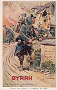 LALAUZE ALPH;       BYRRH   Vin Tonique Et Hygienique   Défensz D'un Village Campagne 1914/1946 - Non Classés