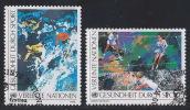 AA-/-296. N° 85/86, Obl., Cote 3.90 €,  Liquidation - Centre International De Vienne