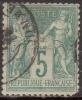 France N° 64 Obl. Cote : 45.00 € - 1876-1878 Sage (Type I)