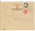 LETTRE DE NIMES GARD 1942 - France
