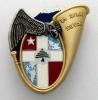 INSIGNE CHASSEURS ALPINS DU 13° BCA LA 2° COMPAGNIE OPEX LIBAN Y. DELSART ET CIE ETAT EXCELLENT - Army