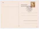 Böhmen + Mähren: Postkarte  1940 5H / 30 H Stamp, Tochowitz, 21-4-45 Cancel
