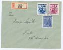 Böhmen + Mähren: Registered Cover 1942, Prag -> Nusle