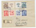 Böhmen + Mähren: Registered Cover 1943, Prag -> Nusle