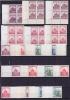 Böhmen + Mähren: Briefmarken Mit Druckmerken