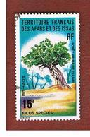 TERRITORI FRANCESI AFARS & ISSAS (FRENCH TERRITORY AFARS & ISSAS) - SG 622 - 1974 PLANTS: FICUS  SPECIES      - USED ° - Afars & Issas (1967-1977)