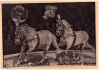 AK ZIRKUS GISELA  CIRCUS - SCHAU  1895. XAVER BRUMBACH  OLD POSTCARD - Zirkus