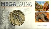 AUSTRALIA MEDALLION STAMPS MEGA ANIMALS FRONT&BACK 1 YEAR PNC DATED 01-10-2008 UNC  READ DESCRIPTION CAREFULLY!! - Australia