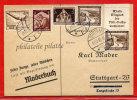 ALLEMAGNE CARTE PUBLICITAIRE DE 1936 DE STUTTGART - Briefe U. Dokumente