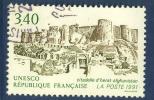 France - Service 109 Oblitéré - Patrimoine Mondial: Citadelle D´Herat En Afghanistan - Officials