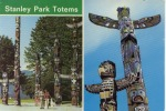 Stanley Park Totems Vancouver Canada - Vancouver