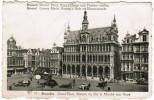 Brussel, Bruxelles, Groote Markt Koning's Huis En Bloemenmarkt (pk5136) - Markten