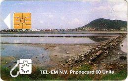 *ANTILLE OLANDESI - IS. ST. MARTEEN* - Scheda A Chip Usata - Antilles (Netherlands)