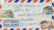 5878.Carta Aerea MADRID 1951 A Argentina - 1931-Hoy: 2ª República - ... Juan Carlos I