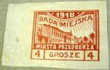 Poland 1918 Local Issue 4g - Mint - ....-1919 Übergangsregierung