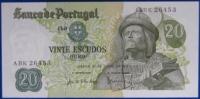 PORTOGALLO 20 ESCUDOS 1971 FdS #B827 - Portogallo