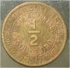 1/2 Sol De Oro 1947 - Perú