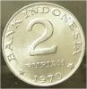 2 Rupia 1970 - Indonesia