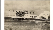 Aviation Biplan Handley-Page - Non Classés