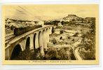 04 FORCALQUIER  Le Train Passe Sur Le Viaduc Vue Sur La Ville 1930     /D10 2012 - Forcalquier