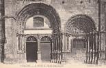 Dép. 89 - AVALLON - Le Portail De L'Eglise Saint-Lazare. Collection ND Phot. N°9 - Avallon