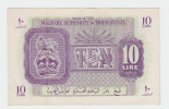 Libya Tripolitania 10 Lira 1943 WWII AUNC P M4 - Libya
