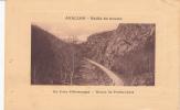 Dép. 89 - AVALLON - Vallée Du Cousin - Un Coin Pittoresque - Route De Pontaubert. Vue En Cartouche. Voyagée 1915 - Avallon