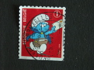 België Belgique Belgium 2008 Postbode Facteur Smurf Schtroumpfs Schlümpfe Smurfs Pitufos COB OBP 3820 O - België