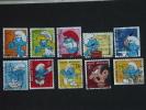België Belgique Belgium 2008  Smurf Schtroumpfs Schlümpfe Smurfs Pitufos Reeks Serie COB OBP 3814-3823 O - België
