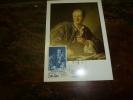 CARTE MAXIMUM  Avec Timbre(s) Cachet 1er Jour  1984   JOURNEE DU TIMBRE       Diderot - Briefmarken