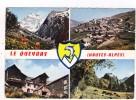 CPM 10*15/D114/LE QUEYRAS MULTIVUES BLASON 1967 - Autres Communes