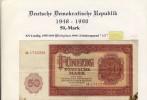 DDR - Deutsche Notenbank Von 1955  -- Fünfzig  Mark  (103) - 2 Deutsche Mark