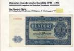 DDR - Deutsche Notenbank Von 1955  -- Hundert  Mark  (105) - [ 6] 1949-1990 : RDA - Rep. Dem. Tedesca